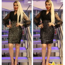 Блестящее платье Behcetti