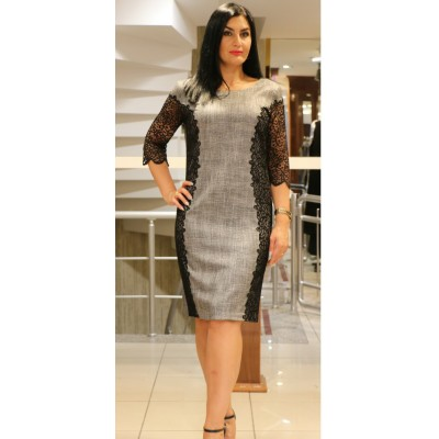 Платье с ажуром Norm