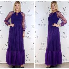 Фиолетовое платье Mira Mia