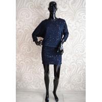 Блестящее платье с пайетками Ladyform